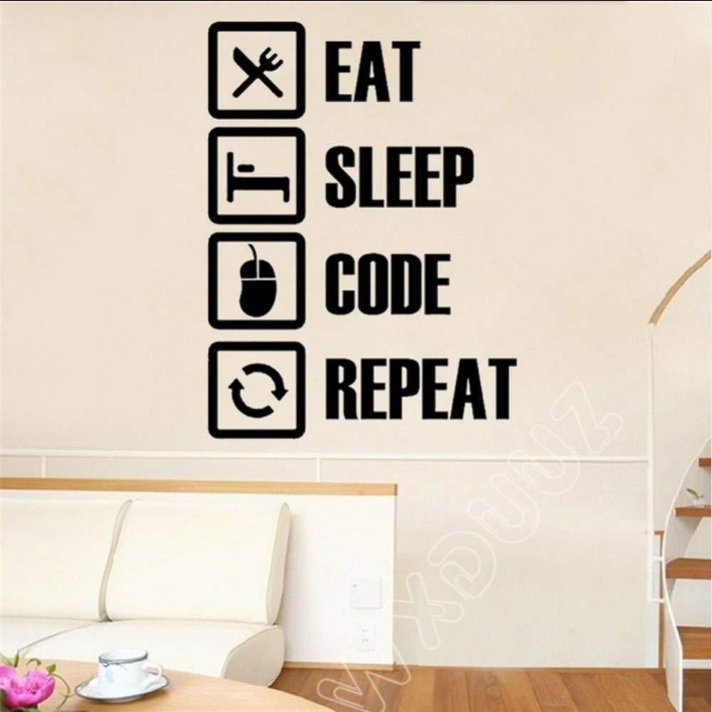 Ordenador Friki Programador Regalo Tatuajes de pared Dormitorio de ...