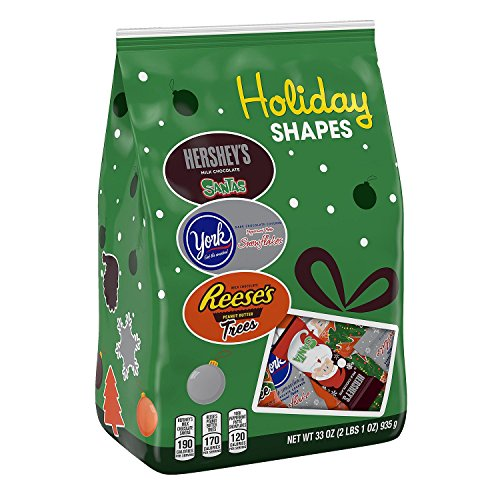 Hershey's Holiday Chocolate Assortment (33 Ounce) (Green Bag)