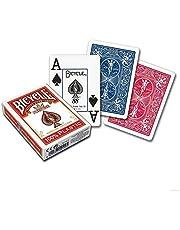 Bicycle %100 Plastik Koleksiyon Poker İskambil Oyun Kartı (Kırmızı)