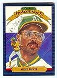 Mike Davis autographed baseball card (Oakland Athletics) 1986 Donruss #14 PEN - MLB Autographed Baseball Cards