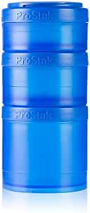 BlenderBottle ProStak Twist n' Lock Storage Jars Expansion 3-Pak with Pill Tray