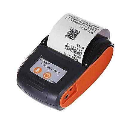 Biback Impresora térmica, Mini Impresora térmica portátil ...