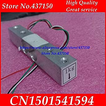 Fevas 1kg Weight Weighing Sensor Portable Weight Sensor Load Cell Weighing Sensor Scale Electronic Scale: Amazon.com: Industrial & Scientific