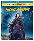 DVD : Highlander : 30th Anniversary [Bluray] [Blu-ray]
