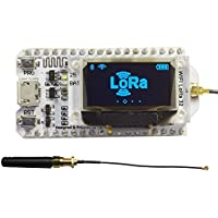 WIshioT Lora Module 868MHz-915MHz 0.96 OLED Display ESP32 ESP-32S WIFI Bluetooth Development Board Antenna Transceiver SX1276 IOT for Arduino Smart Home