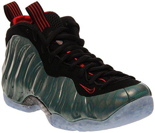 Nike Men's Air Foamposite One PRM Emerald/Red/Black 575420-300 Emerald/Red/Black (Size: 8)