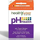 100pcs Wise Results in 15 sec Optimal Healthy Urine Tester pH Test Strips