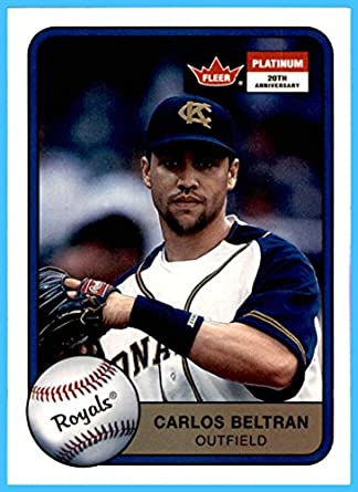 2001 Fleer Platinum 73 Carlos Beltran Kansas City Royals