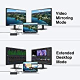 4K@60Hz MacBook Pro Docking Station with 180W Power