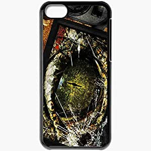 Personalized iPhone 5C Cell phone Case/Cover Skin Area 407 Black