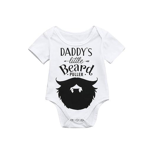 04d4d74ee Amazon.com  Molyveva Infant Baby Girl Boy Romper Short Sleeve ...