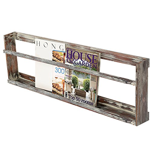 Mounted Torched Magazine Display Railing