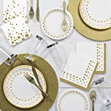 Sparkle and Shine Gold Deluxe Party Supplies Kit