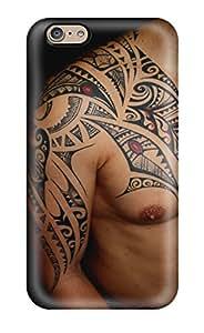 For Iphone 6 Premium Tpu Case Cover Tattoo Art Protective Case