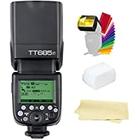 Godox TT685F HSS 2.4G TTL GN60 1/8000S 0.1-2.s Recycle Time 230 Full Power Flashes Camera Flash Speedlite light for Fujifilm Camera