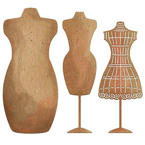 Cheery Lynn Designs Die Set Antique Dress Forms - Antique Die
