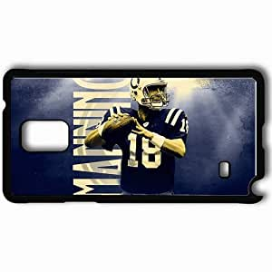 Personalized Samsung Note 4 Cell phone Case/Cover Skin 1321 indianapolis colts 0 Black