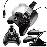G-HUB® - X-BOX ONE TWIN CONTROLLER DOCK (Holds and charges upto 2 Game Pad Controllers during charge and can be used during Play) Designed by G-HUB® exclusively for Microsoft X-BOX ONE Control Pads