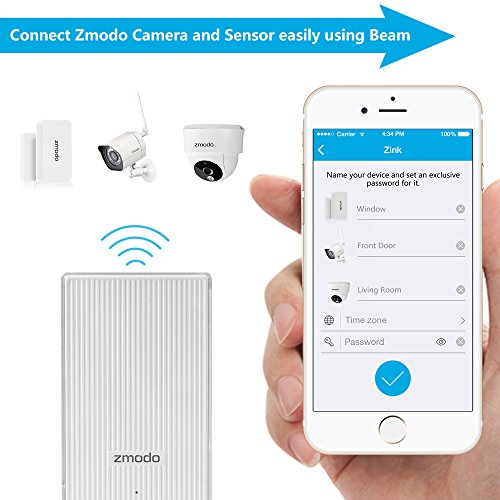 front door camera iphoneAmazoncom  Zmodo AllinOne Kit 8CH NVR 720p HD WiFi Outdoor