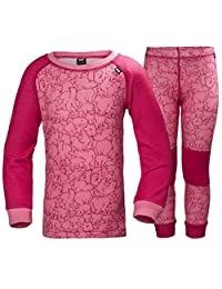 Helly Hansen Kid's HH Warm Base Layer Top and Bottom Set