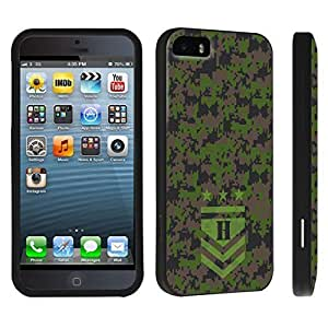 DuroCase ? Apple iPhone 5 / iPhone 5s Hard Case Black - (Army Camo Monogram H)