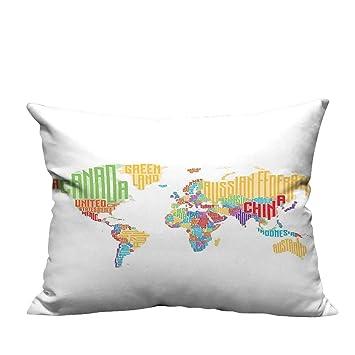 Amazon.com: Funda de almohada funda de cojín abstracto ...