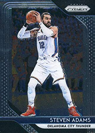 on sale a59fb 90cac Amazon.com: 2018-19 Prizm Basketball #69 Steven Adams ...