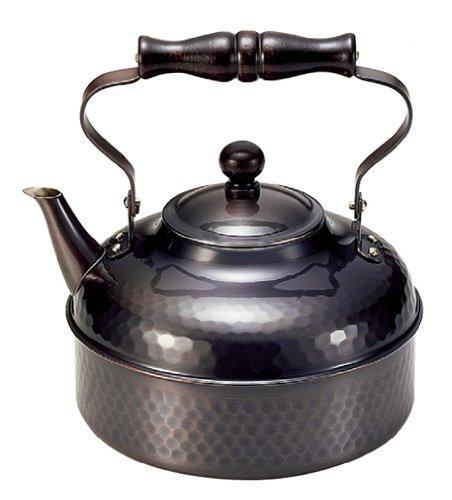 Shinkodo Pure copper kettle 2.0L black copper finish  2L BC-810