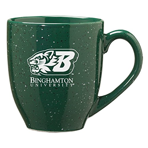 Binghamton University - 16-ounce Ceramic Coffee Mug - Green