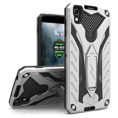 Alcatel Idol 4 Case, Zizo [Static Series] Shockproof [Military Grade Drop Tested] with Kickstand [Alcatel Idol 4 Heavy Duty Case] Impact Resistant