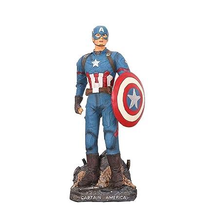 SSRS Avengers Superhero Captain America Resina Dormitorio ...