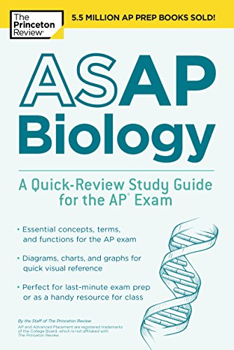 ASAP Biology: A Quick-Review Study Guide for the AP Exam (College Test Preparation) (English Edition)