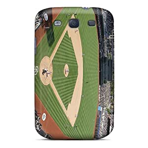 RitaSokul Samsung Galaxy S3 Scratch Protection Phone Case Custom Lifelike San Diego Padres Series [TMC7610MJvf]