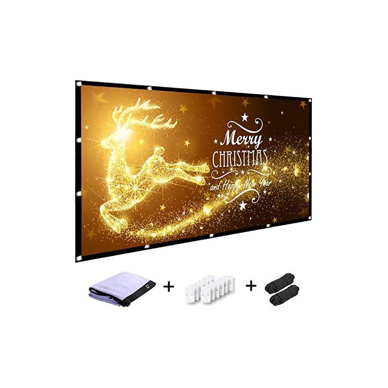 MINC 120 inch Projector Screen 16:9 HD F