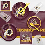 Creative Converting Washington Redskins Game Day Party Supplies Kit