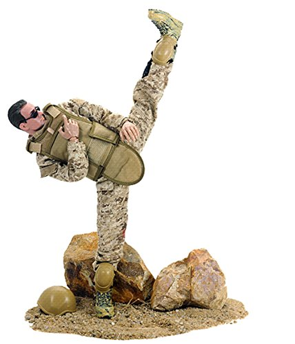 12' Cool Military Action Figure Soldier Simulation Model Full Set #1 (12' Full Action Figure)