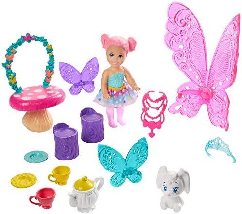 Barbie GJK50 - Dreamtopia Teeparty Spielset, Puppe und Zubehör, Spielzeug ab 3 Jahren