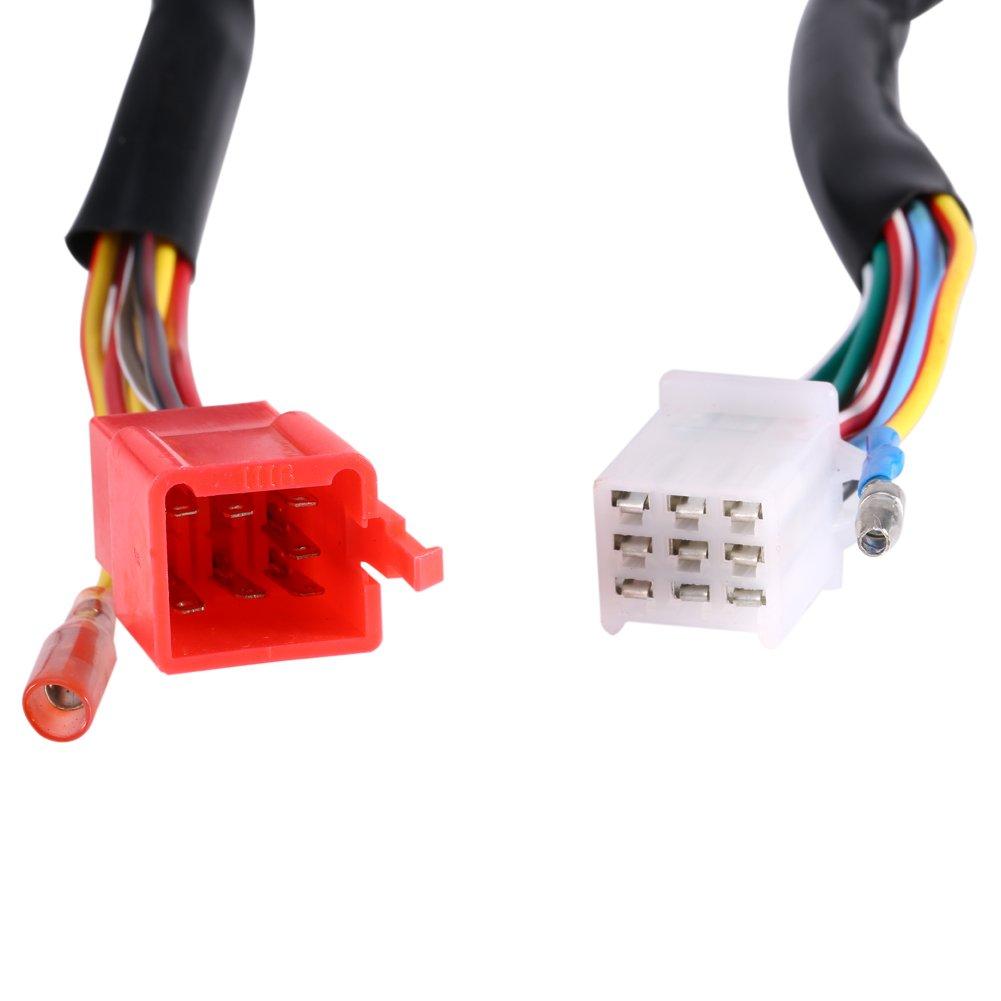 Motorcycle 7//8 Handlebar Horn Turn Signal Headlight Electrical Start Switch