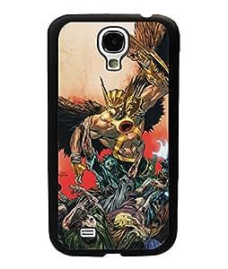 Samsung Galaxy S4 Mini Funda Case Hawkman Marvel Superhero Dust-proof New Style Plastic Hard Funda Case