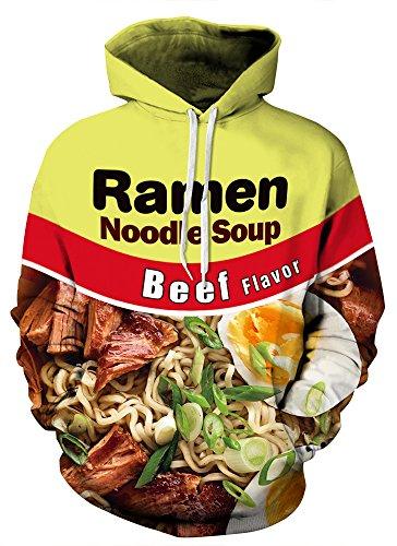 Indrah Mens Pullover Hoodie Galaxy Pockets 3D Pullover Hooded Sweatshirts Hoodies (Design Hoodie)