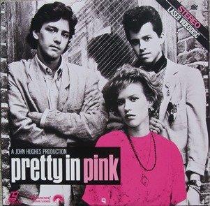 Pretty In Pink LASERDISC (NOT A DVD!!!) (Full Screen Format)