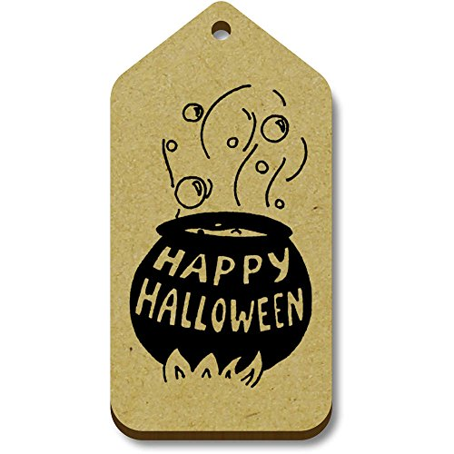 Azeeda 10 x 'Halloween Cauldron' 66mm x 34mm Gift Tags (TG00060545)