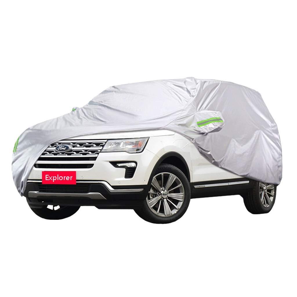 フォードエクスプローラー車のカバー厚い車の衣類雨カバー車の布日焼け止め車のカバー (サイズ さいず : 2017) 2017  B07R8PWBCK