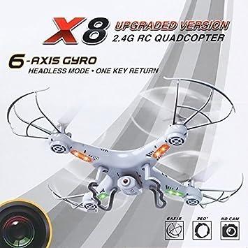 Drone Quadricoptère BAYANGTOYS X8 con cámara de vídeo HD 720P ...