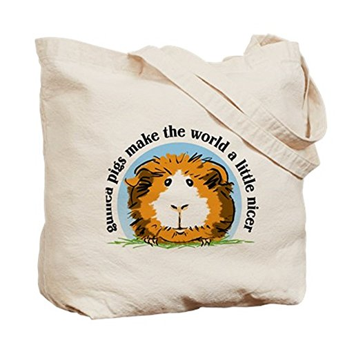 CafePress - Guinea Pigs Make The World... - Tote Bag by CafePress