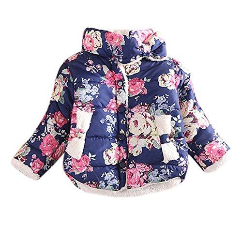 PanDaDa Jackets Outerwear Winter Floral