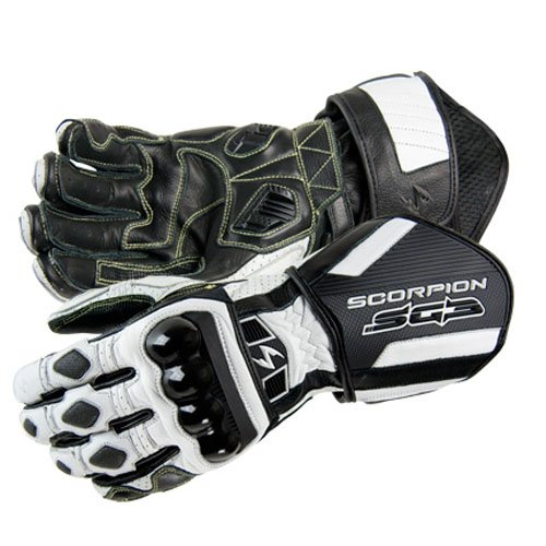 Scorpion SG3 Motorcycle Gloves White Size Large