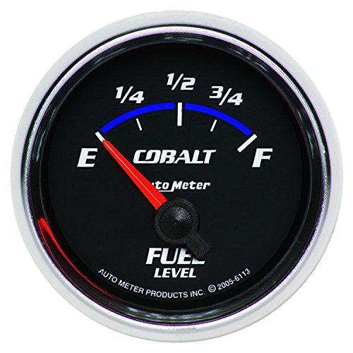 Level Auto Cobalt (Auto Meter 6113 Cobalt Electric Fuel Level Gauge)