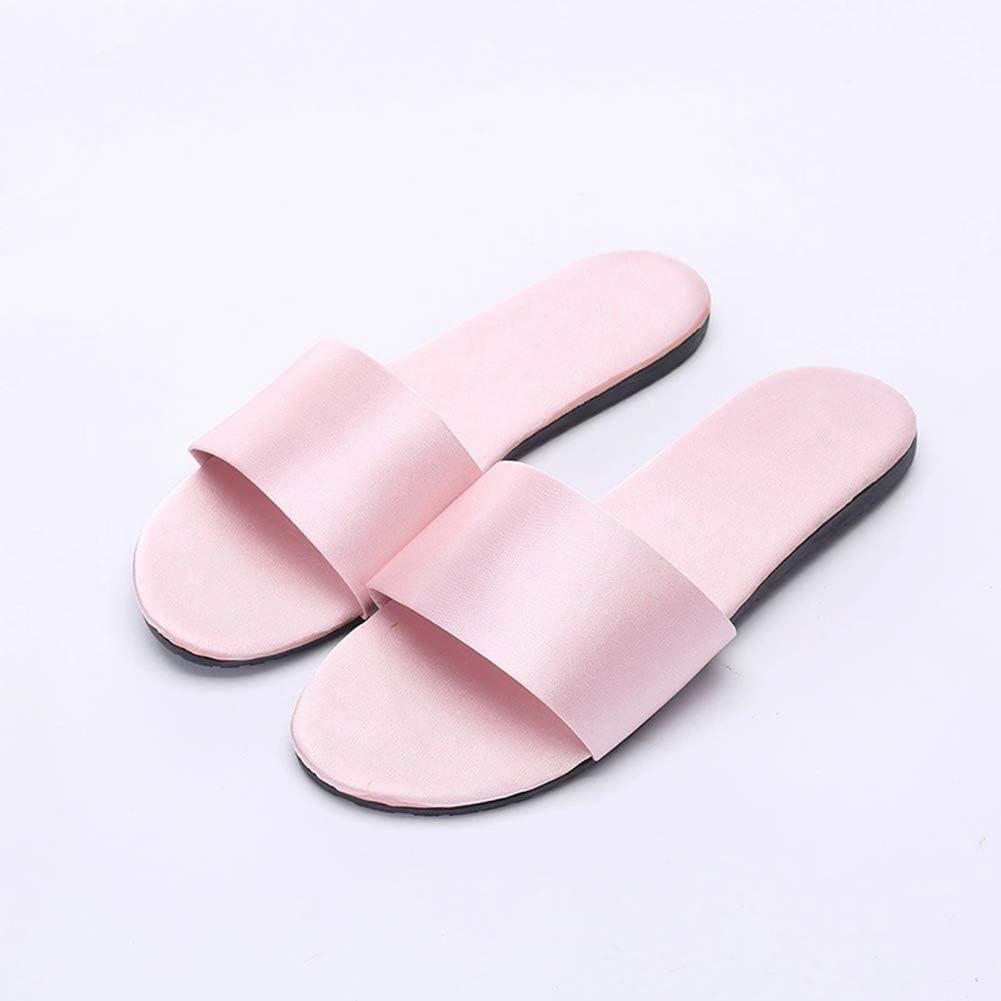 OOFAY Pantofole da Casa in Raso Pantofole da Interno Antiscivolo Pantofole da Sposa per Interni