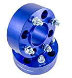 2pcs 2'' 4/110 4x110 ATV Wheel Spacers for Honda Polaris Kawasaki Yamaha Rhino Grizzly Suzuki (Blue)